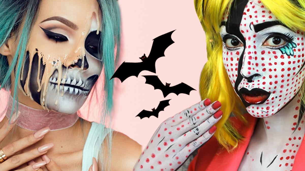 Макияж на Хэллоуин 2019 – мастер-класс, как сделать крутой образ в видео