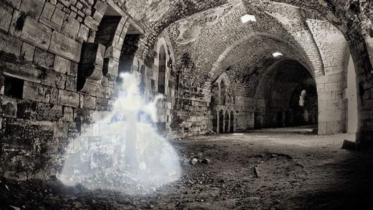Призрак в подземелье