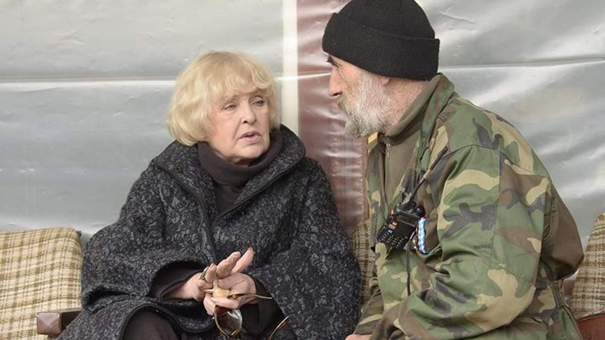 Госпіталізована Роговцева передала українцям важливе прохання