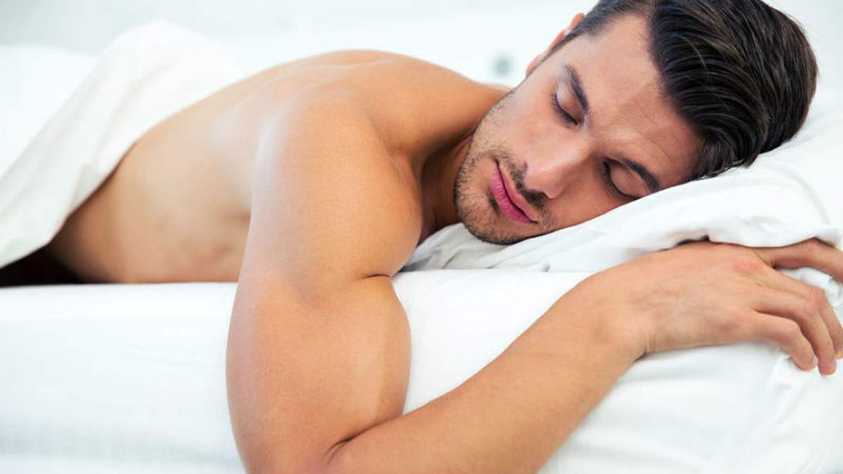 Спать лучше голышом