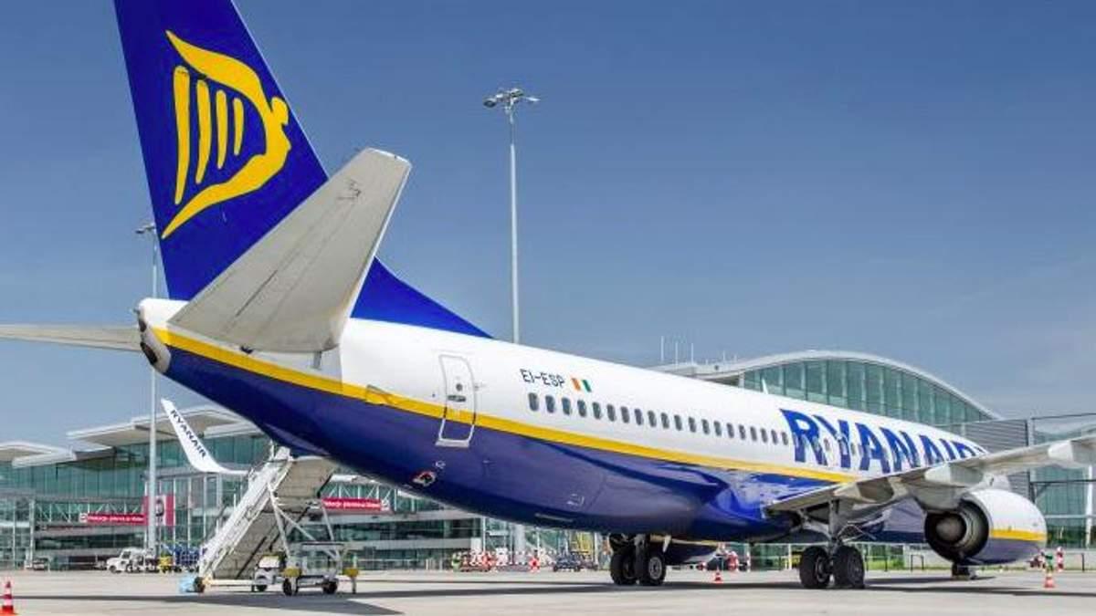 Офіційно: Ryanair виходить на український ринок