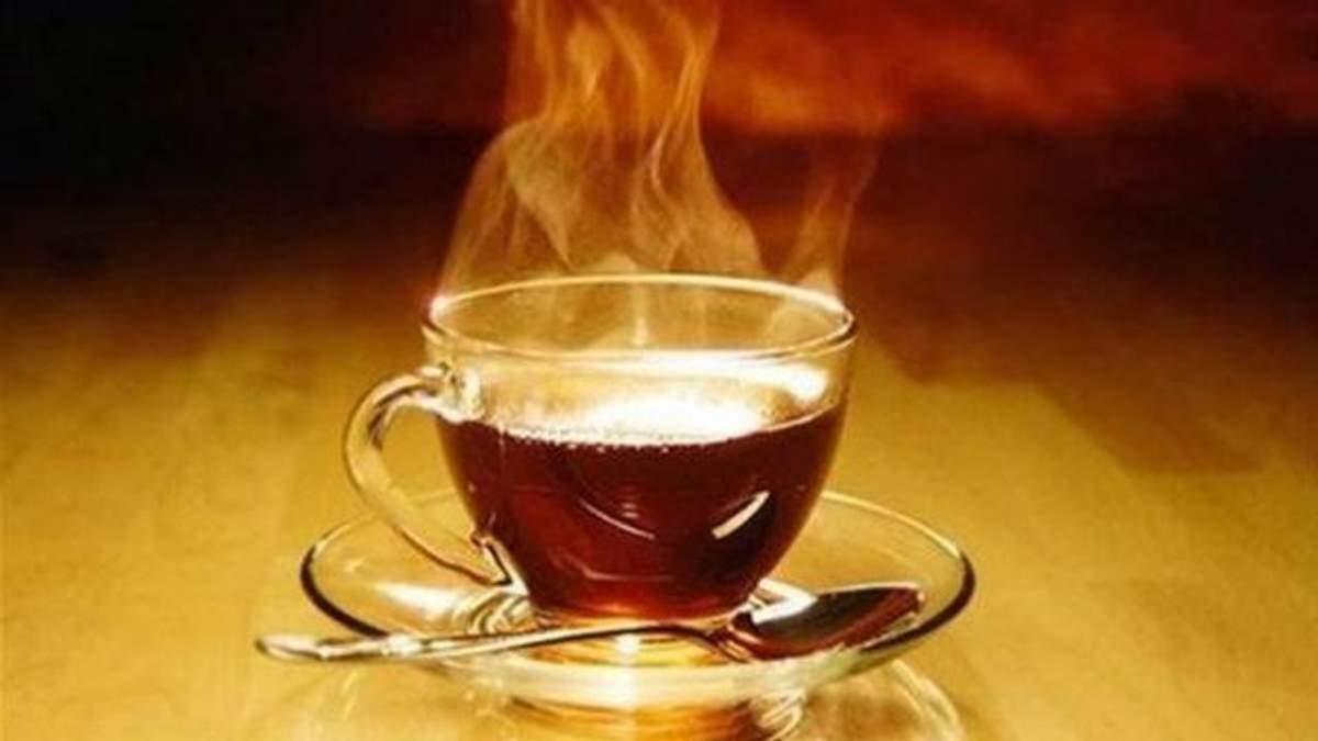 Гарячий чай - шкідливий