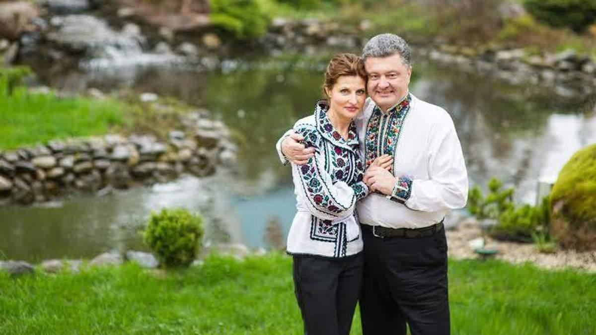Дружина Порошенка працевлаштувалась у Ахметова