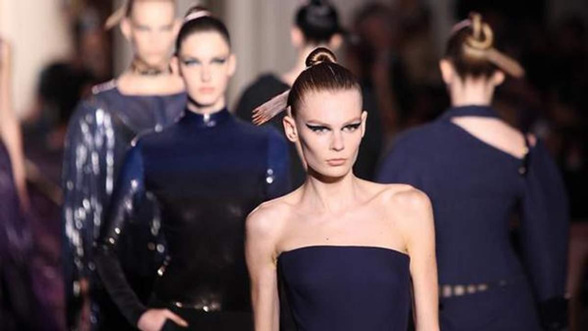 Во Франции запретили фотографировать очень худых моделей