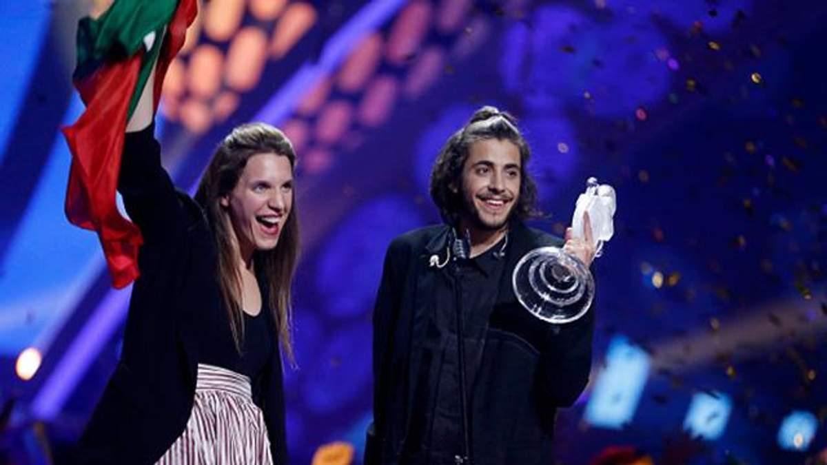Переможець Євробачення-2017 Сальвадор Собрал і сестра Луїза: відео виступу