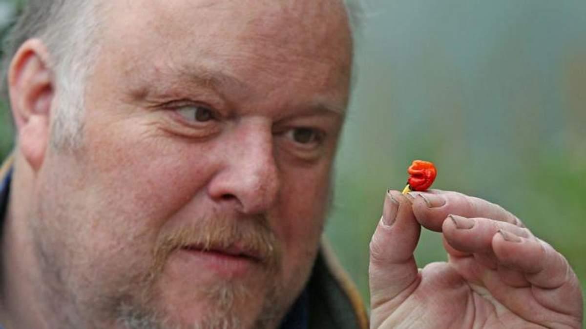 Садовник случайно изобрел самый острый перец в мире