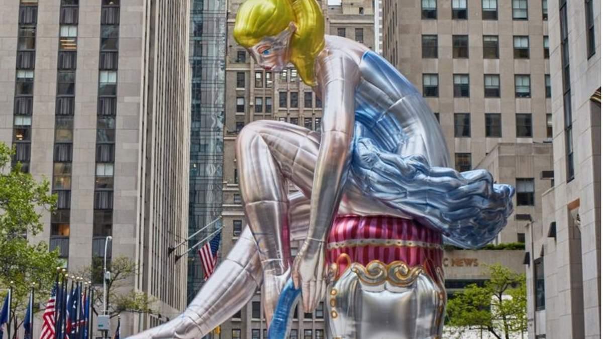 Скульптура Джеффа Кунса