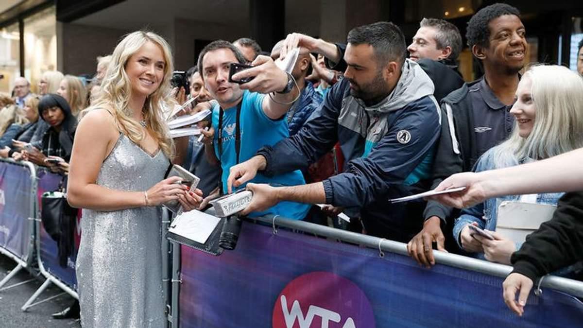 Відома українська тенісистка вразила своїм образом на вечірці Вімблдону
