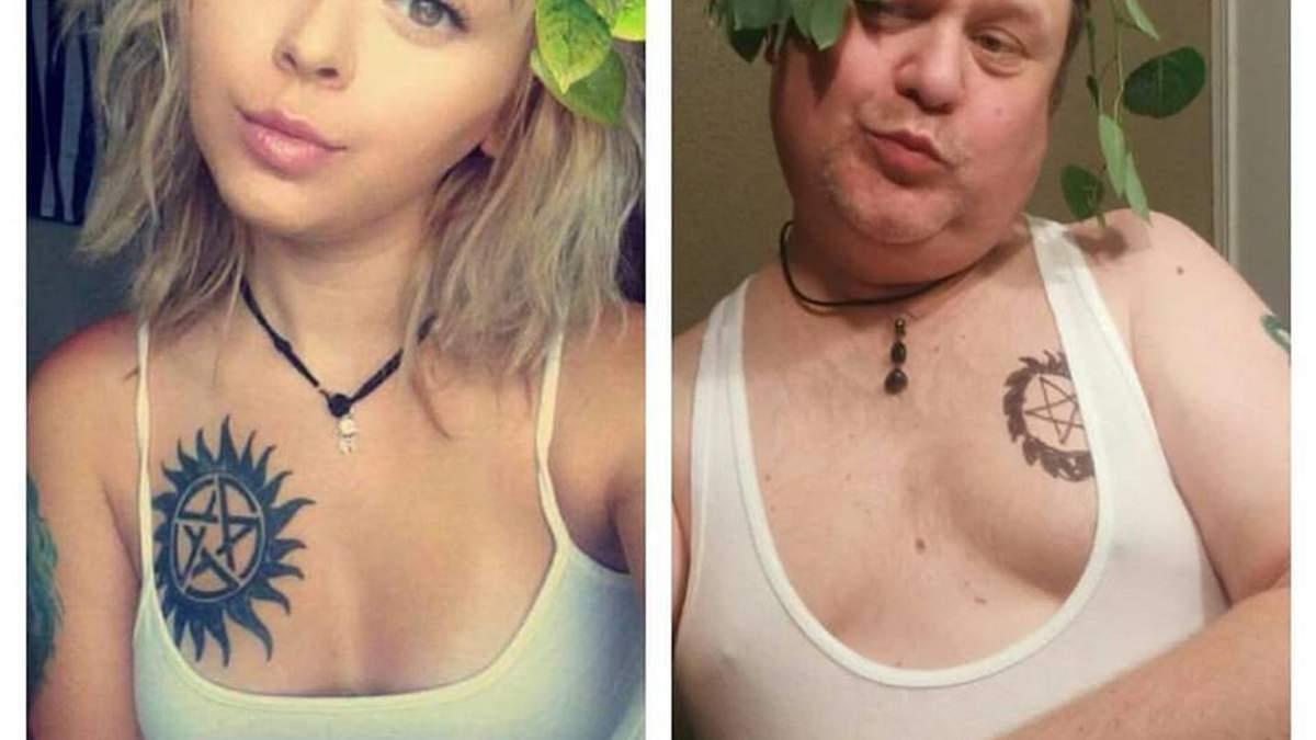 Батько цілий рік пародіював селфі своєї доньки та став популярнішим за неї