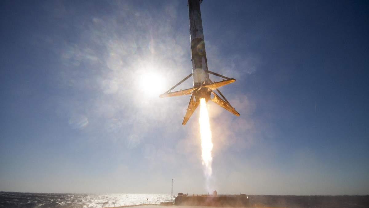 З'явилося відео успішного запуску ракети-носія Falcon 9