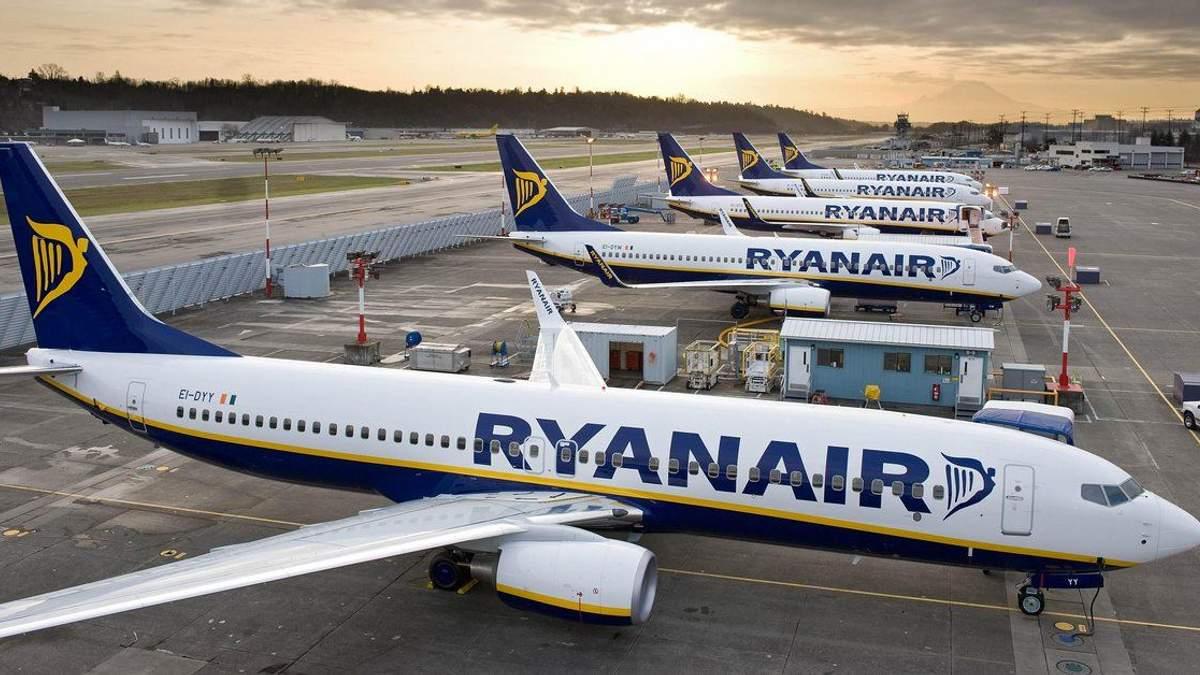 Ryanair в Украине может отменить полеты
