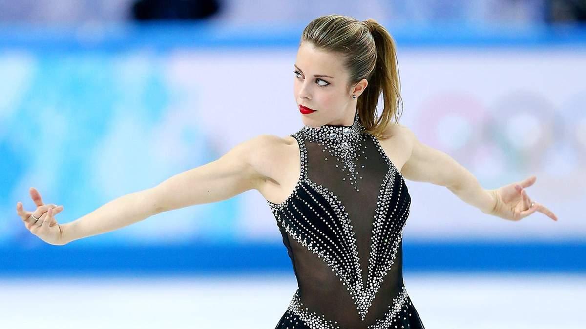 Американская фигуристка снялась голой и на коньках для глянца: фото (18+)