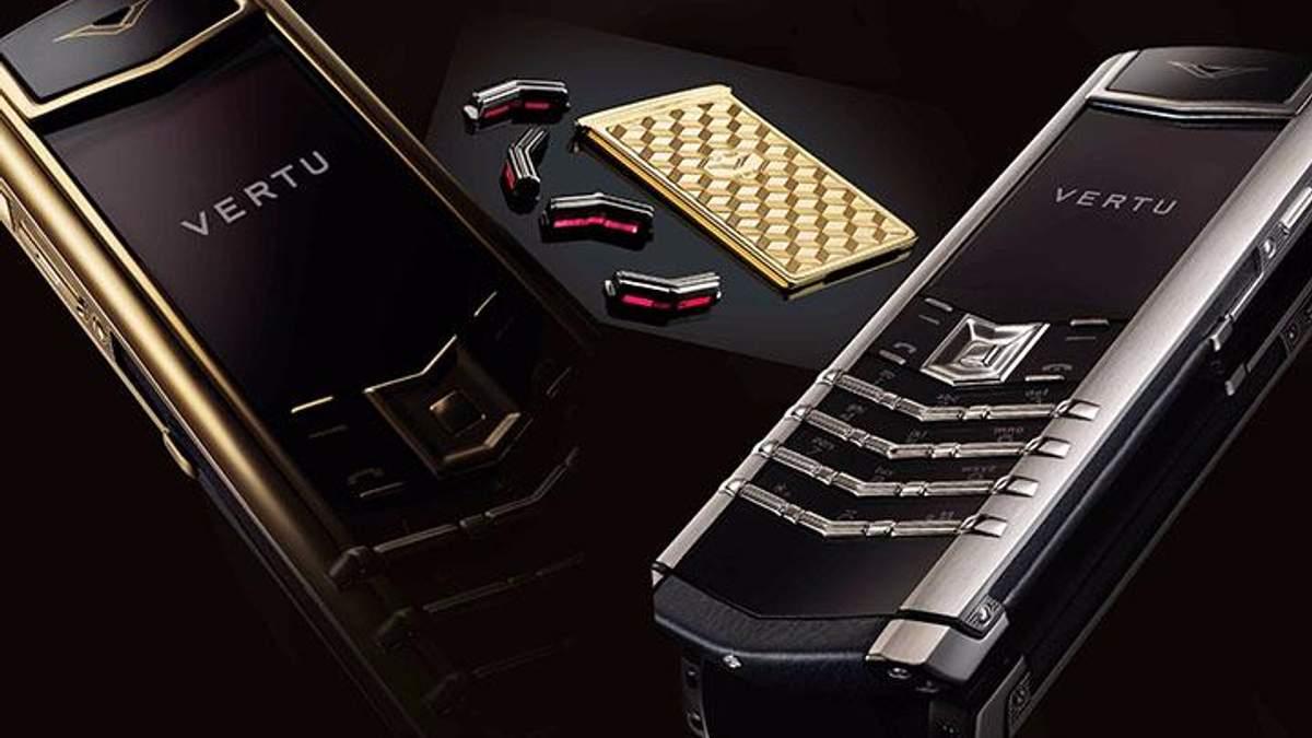 Компания Vertu закрывает производство сверхдорогих смартфонов из-за банкротства