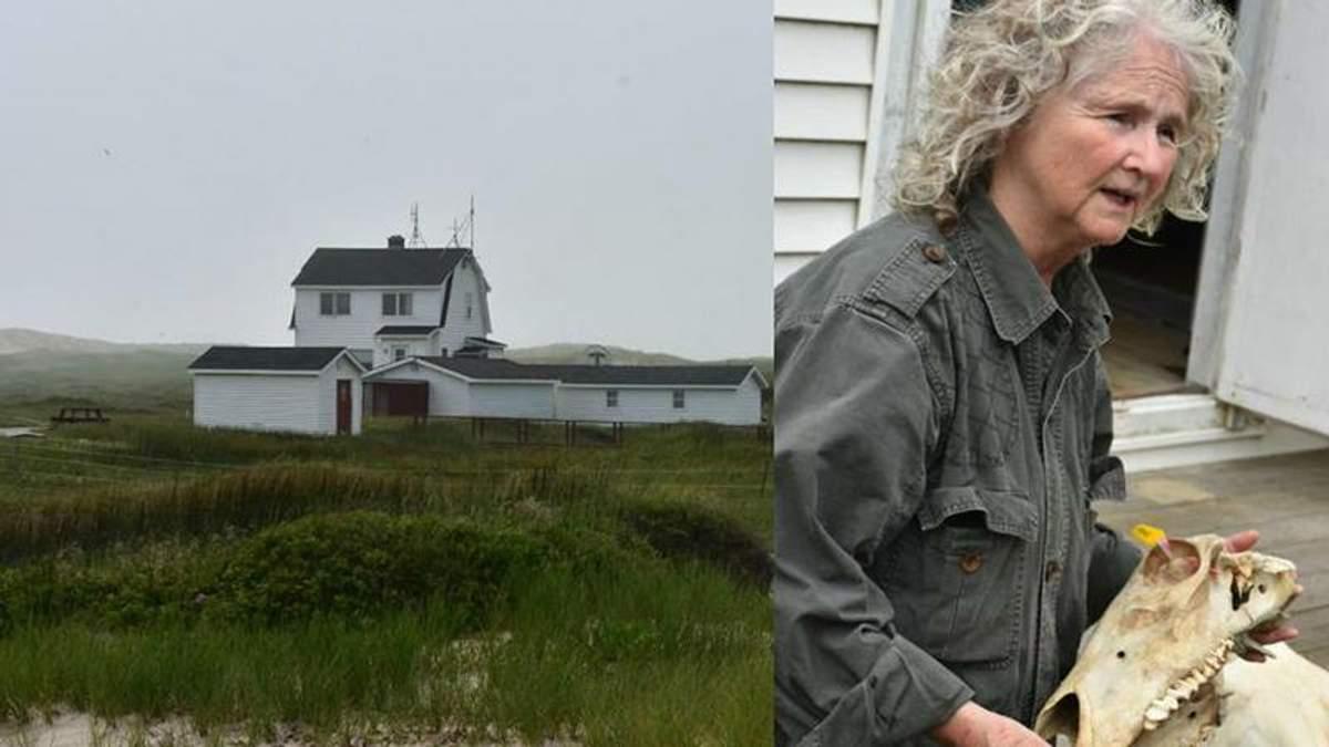 Женщина 40 лет живет в одиночестве на удаленном острове: фото