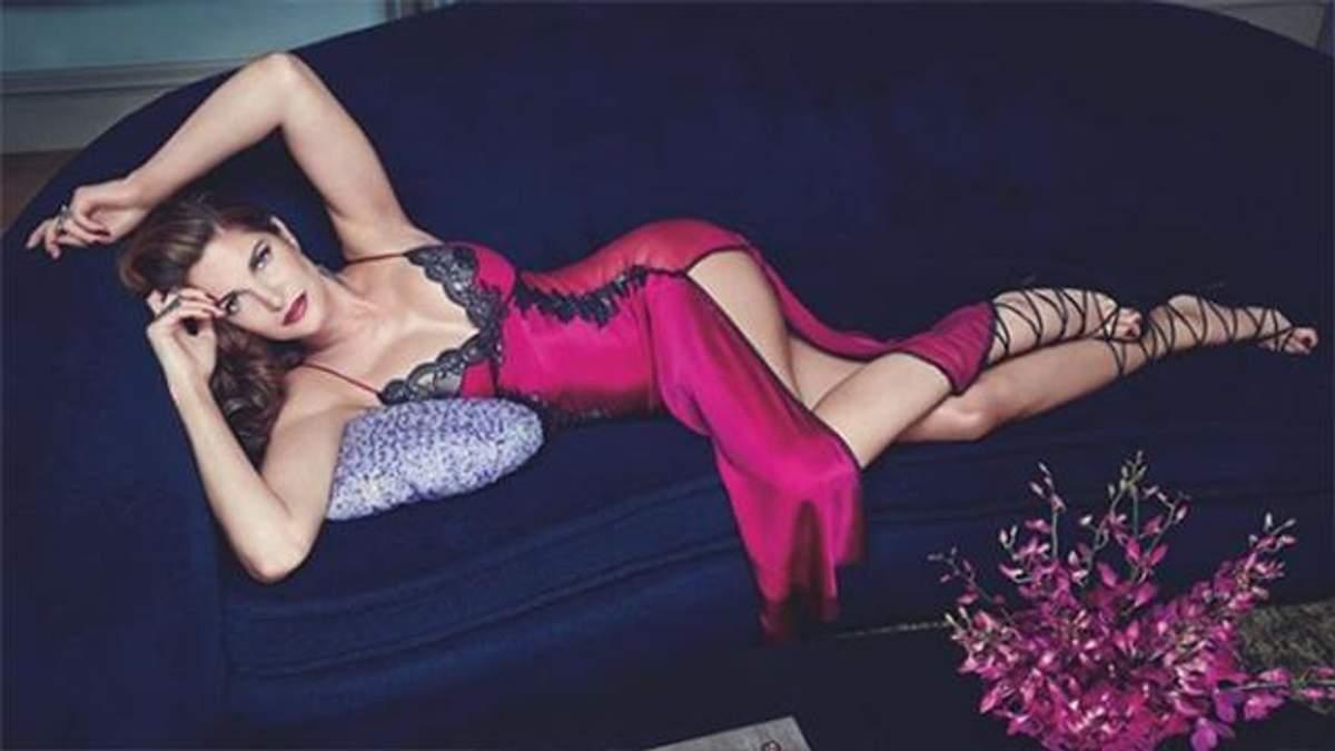 49-летняя модель позировала абсолютно обнаженной для журнала: 18+