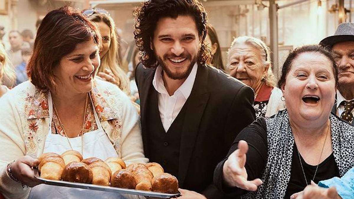 Кит Харингтон и Эмилия Кларк снялись для Dolce&Gabbana в ярких видеороликах