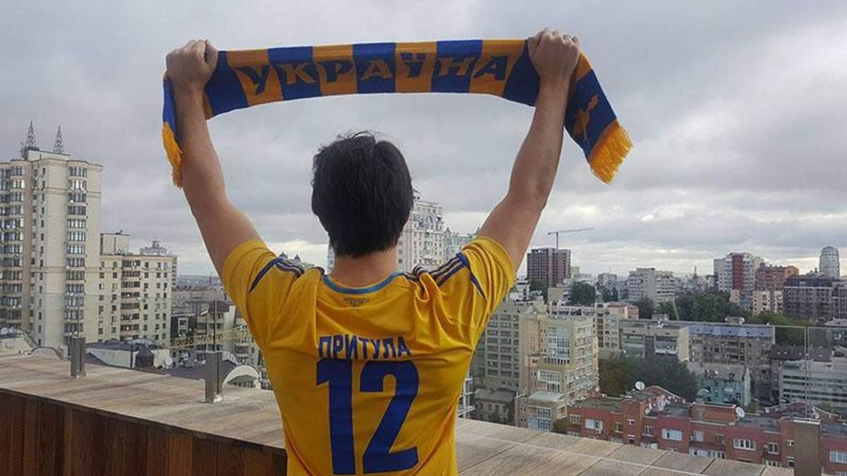 Будет бой! Мы и целый стадион викингов, – Притула эмоционально поддержал сборную Украины по футболу