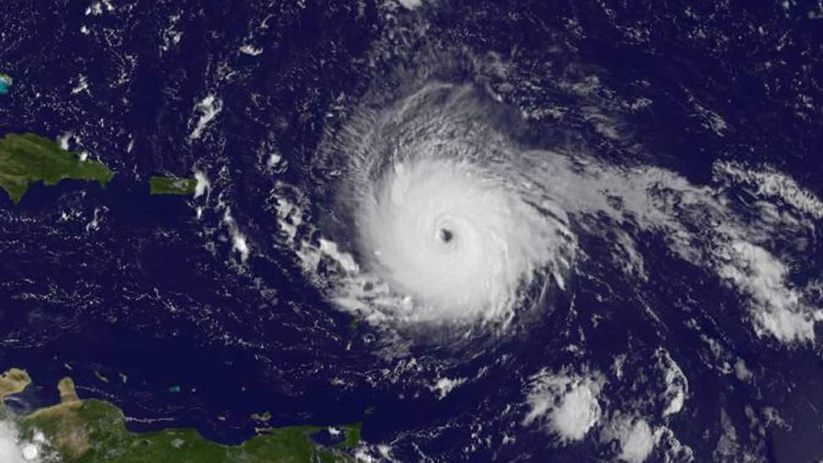 Ураган Ирма видео с космоса: ураган идет на Флориду - NASA