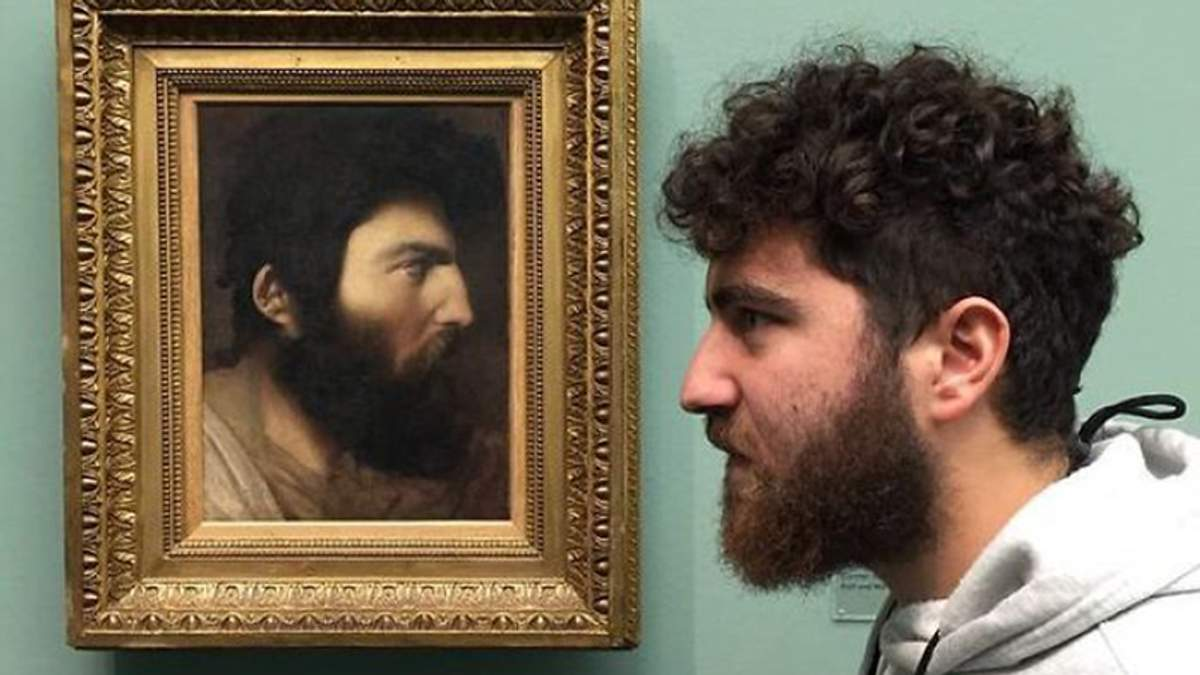 Люди віднайшли своїх двійників на класичних картинах: веселі порівняння