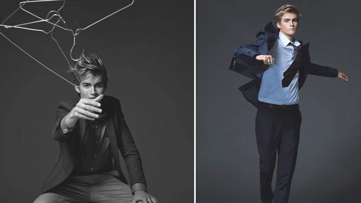 Юний син Сінді Кроуфорд вийшов на подіум в рамках Тижня моди: яскраві фото