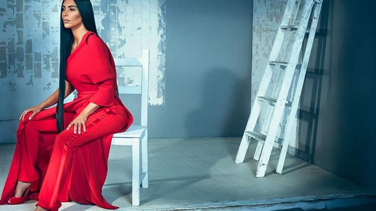 Несподівано: Кім Кардашян знялася в стриманій та елегантній фотосесії
