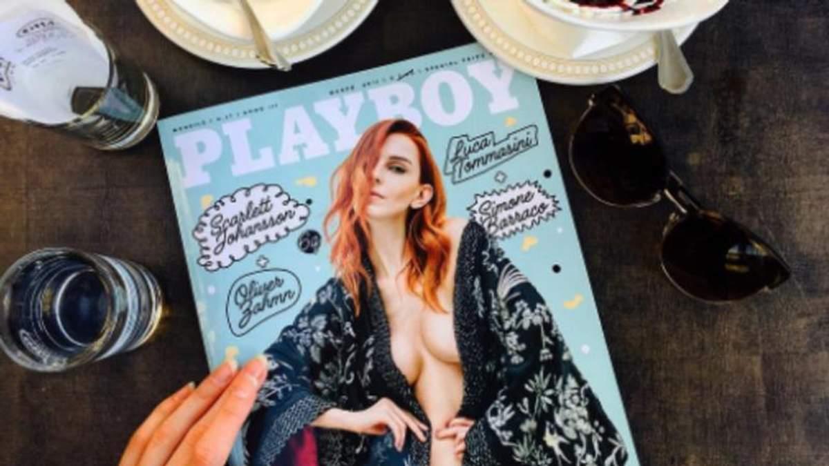 Дівчина з обкладинки: хто з українок знімався для Playboy (18+)