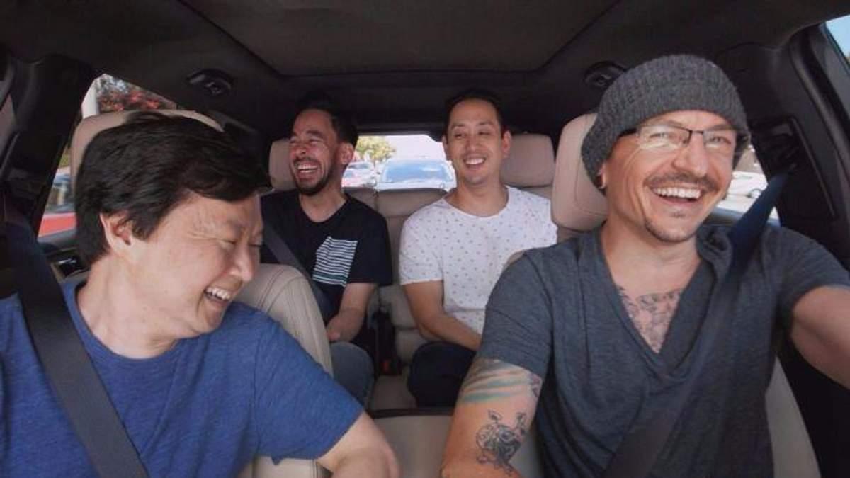 Linkin Park опублікували відео Carpool Karaoke з Честером Беннінгтоном, яке зняли за декілька днів до смерті музиканта