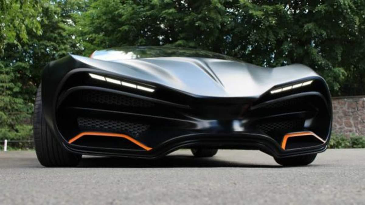 Фотофакт: дорогущий украинский суперкар заметили в Латвии