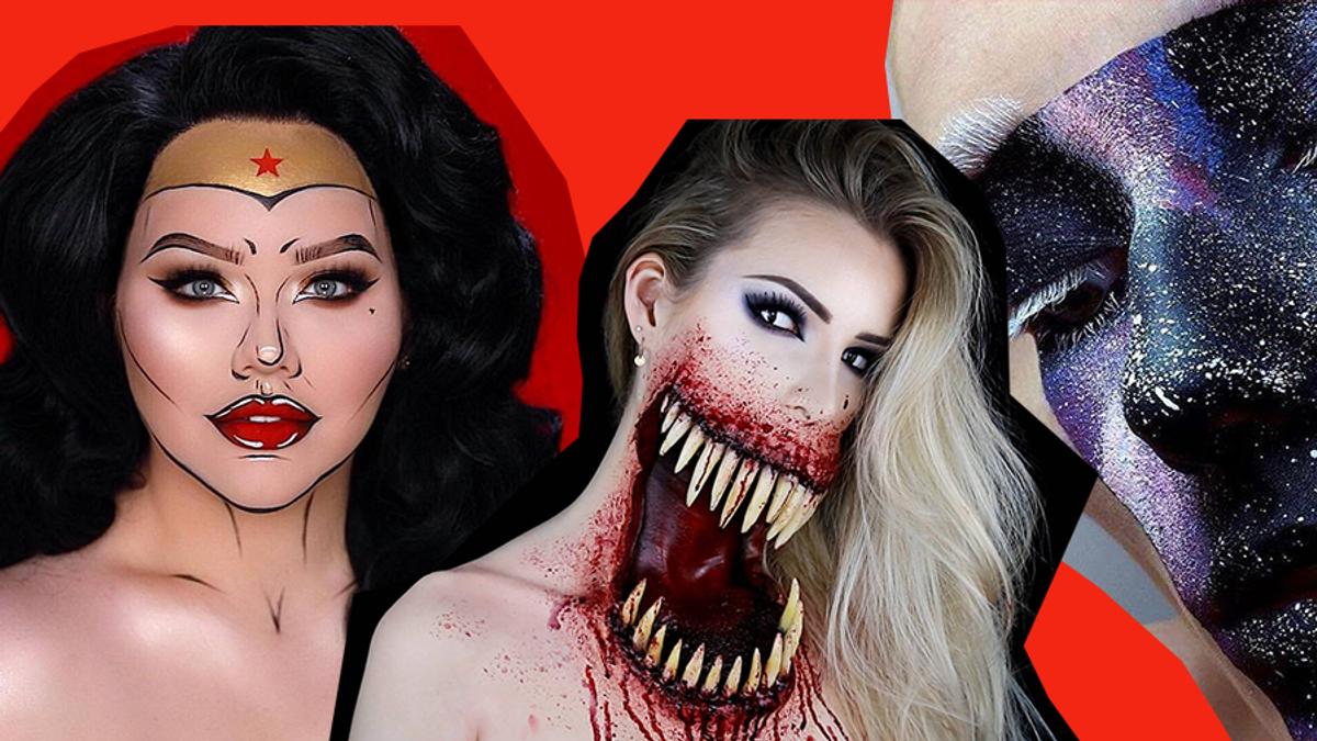 Грим на Хелловін 2019 – відео та фото страшного макіяжу