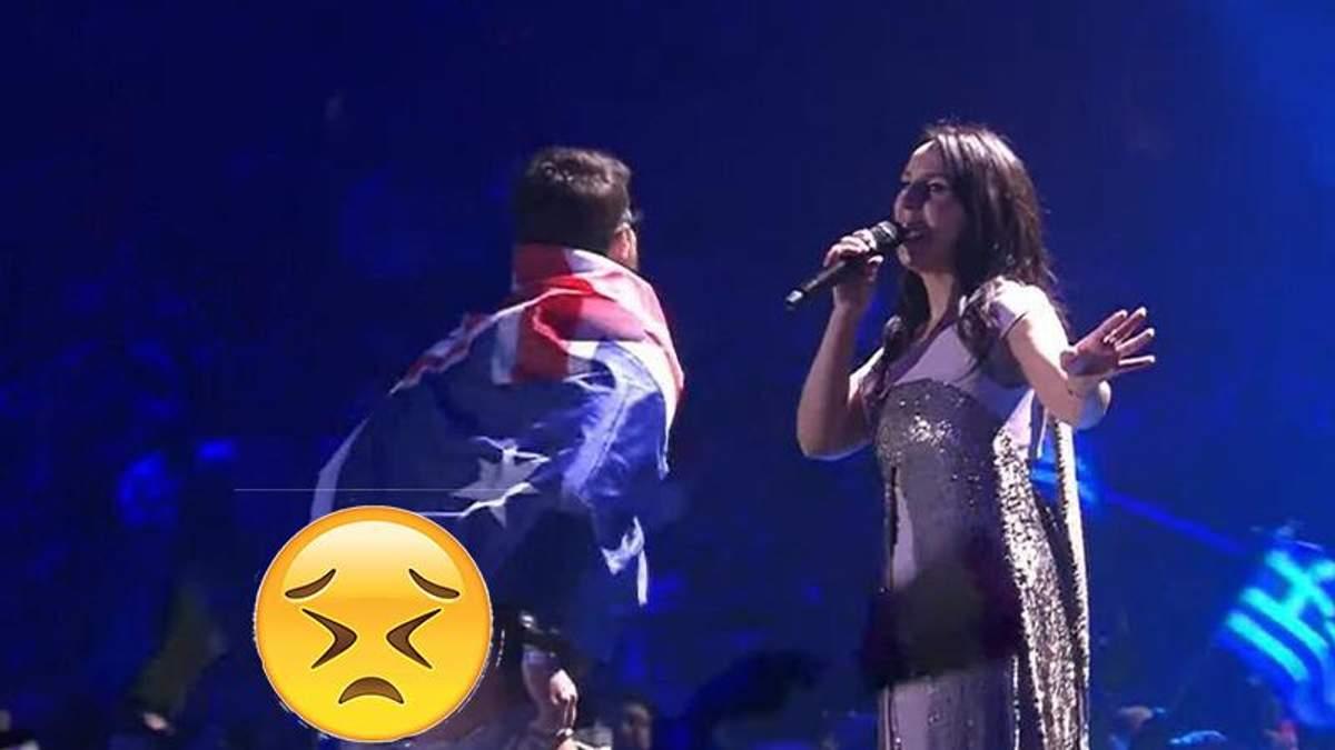 Евровидение 2017: пранкер на сцене с Джамалой