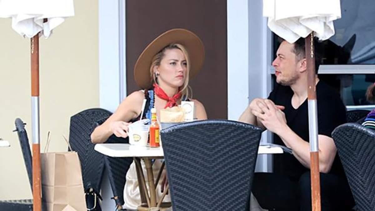 Экс-влюбленных Илона Маска и Эмбер Херд застукали вместе в Лос-Анджелесе