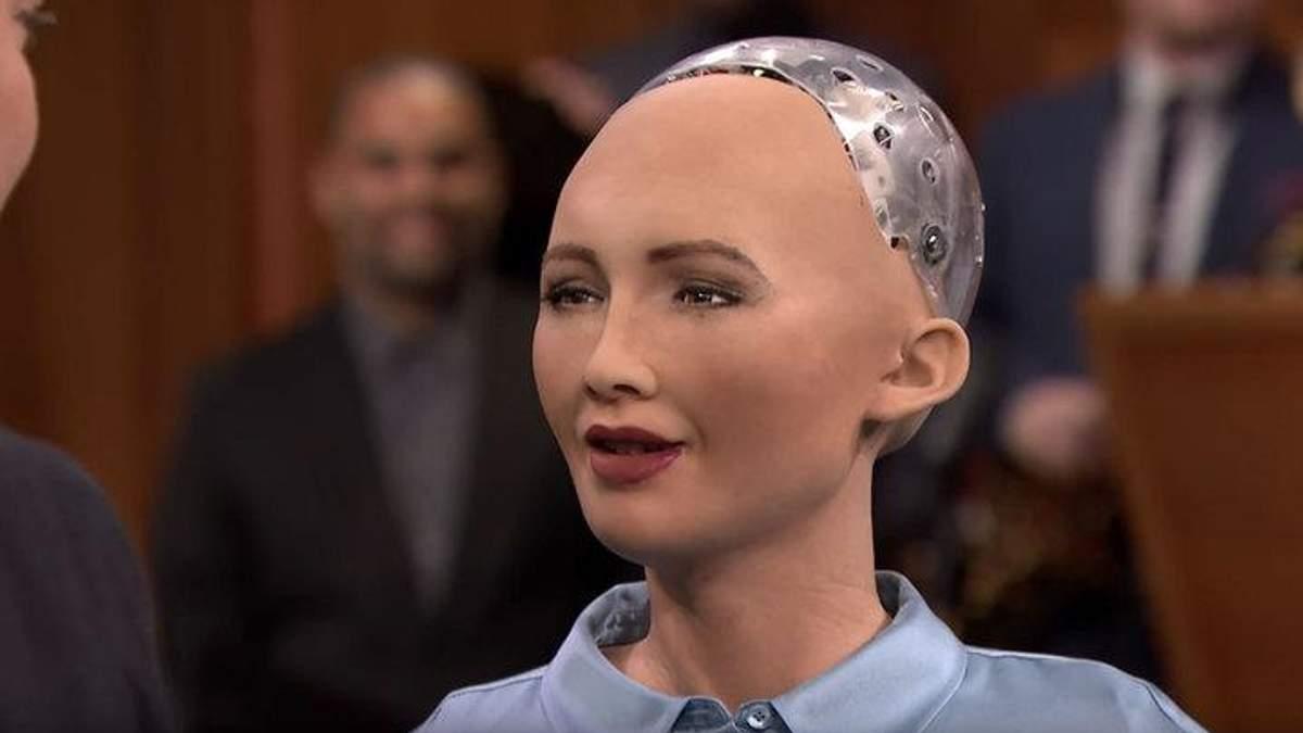 Создать семью: робот София поделилась новыми планами на будущее