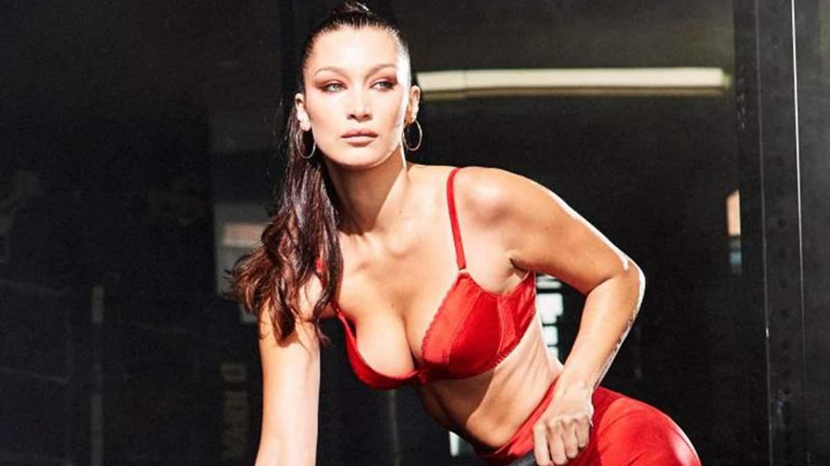 Белла Хадід похизувалася фігурою у ролику для Love Magazine
