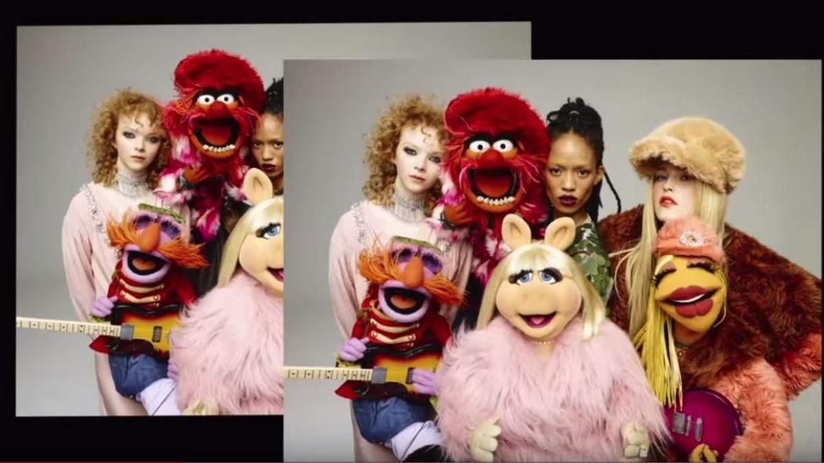 Одразу декілька зірок-красунь знялись з героями мультсеріалу для Love Magazine: відео