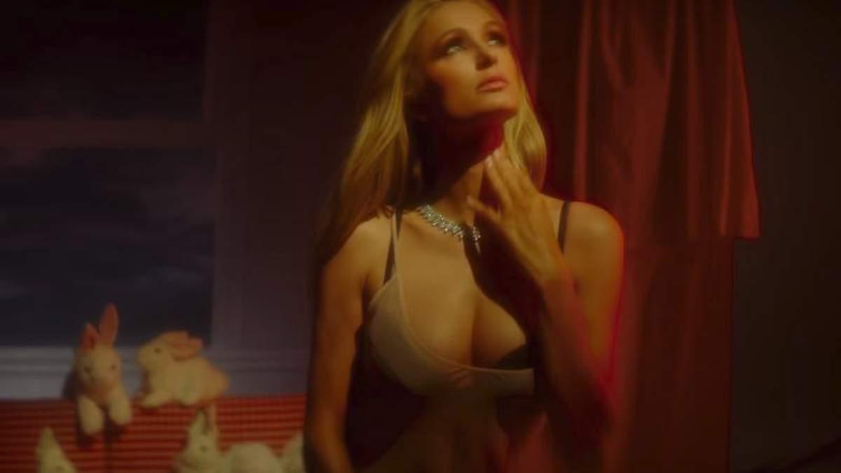 Пэрис Хилтон снялась в соблазнительном ролике для Love Magazine: видео