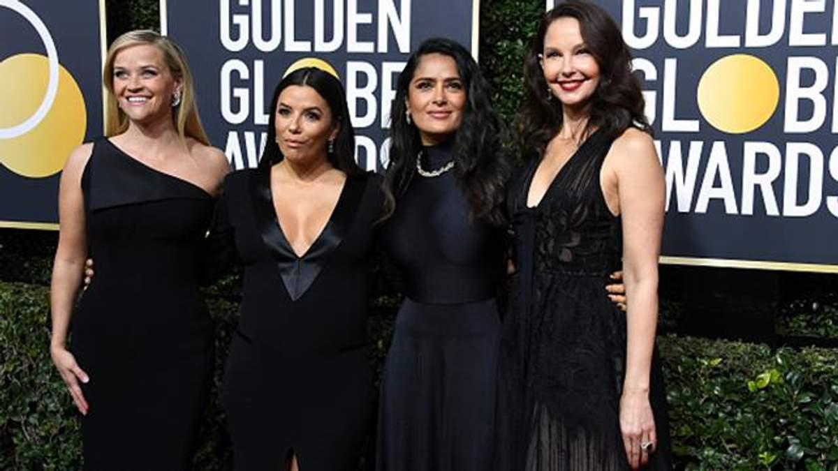 Золотой глобус 2018: почему все в черном - фото