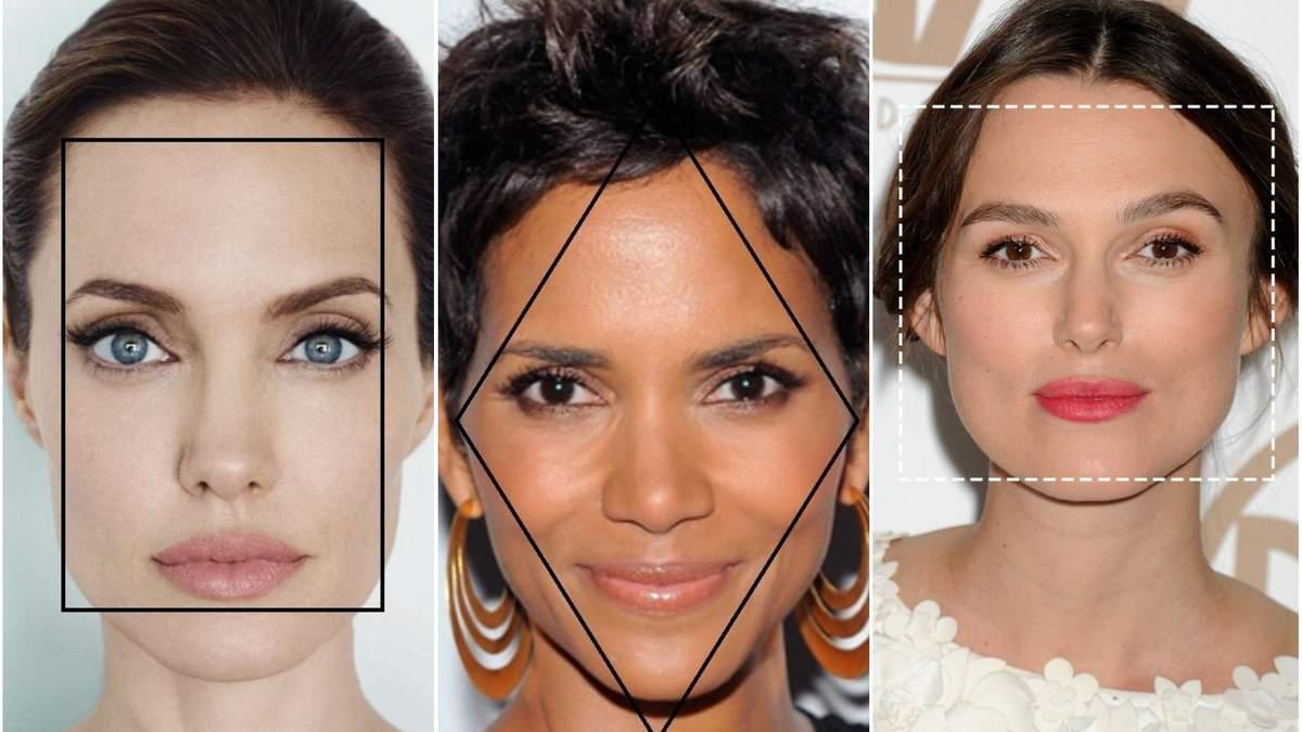 Як визначити свою форму обличчя і для чого це потрібно