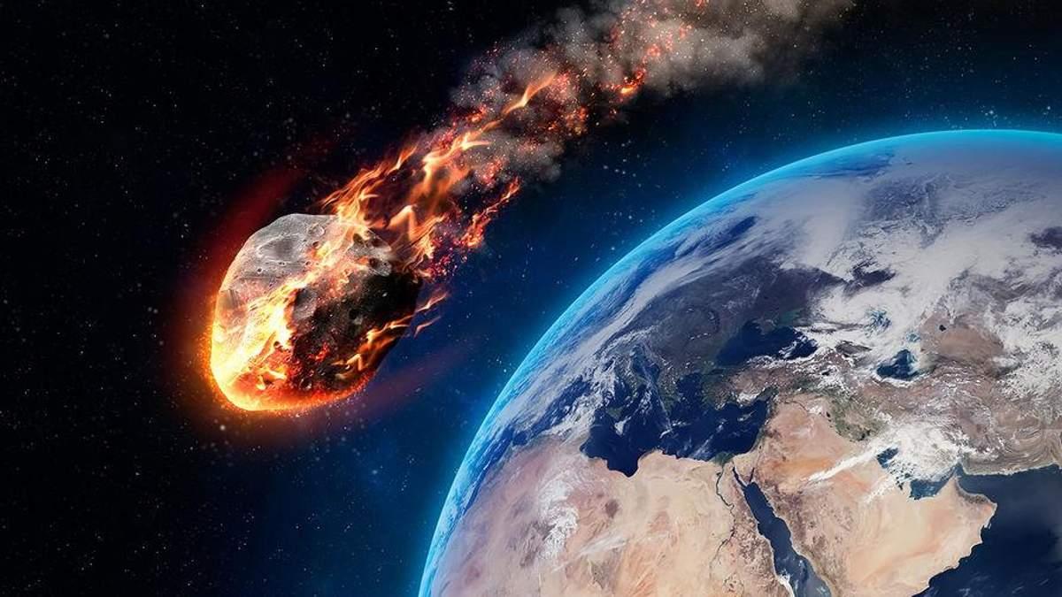 До Землі наближається великий астероїд