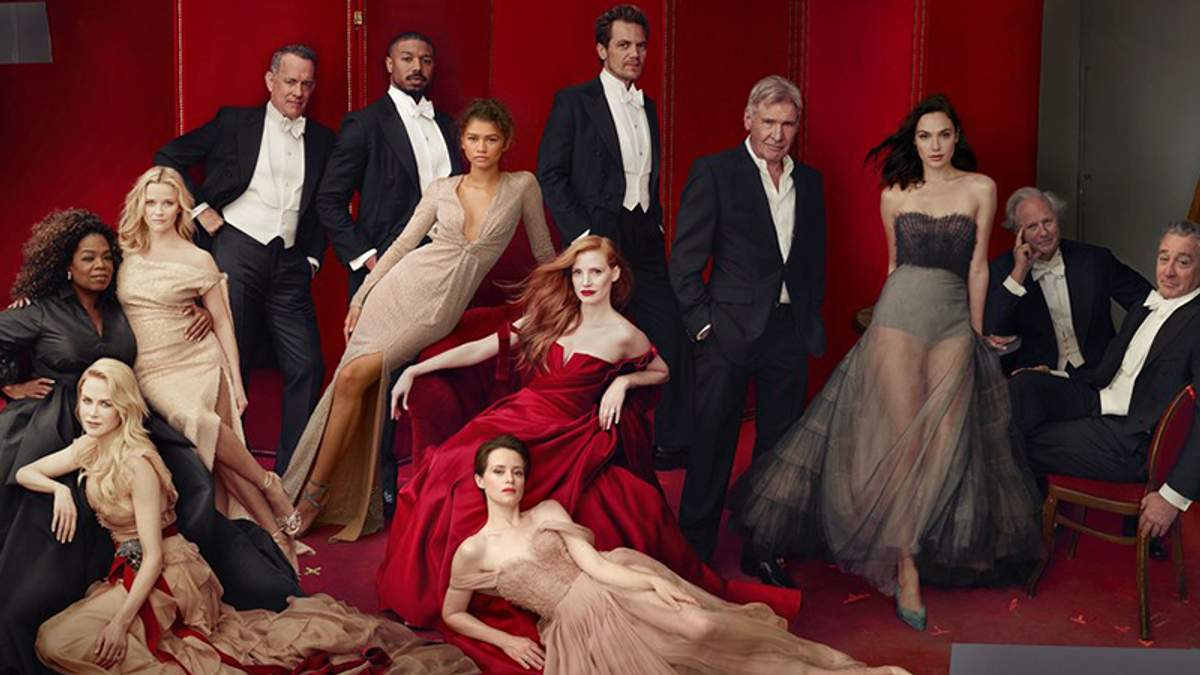 """Обкладинка року: 12 зірок напередодні вручення """"Оскара"""" знялися для Vanity Fair – фото"""
