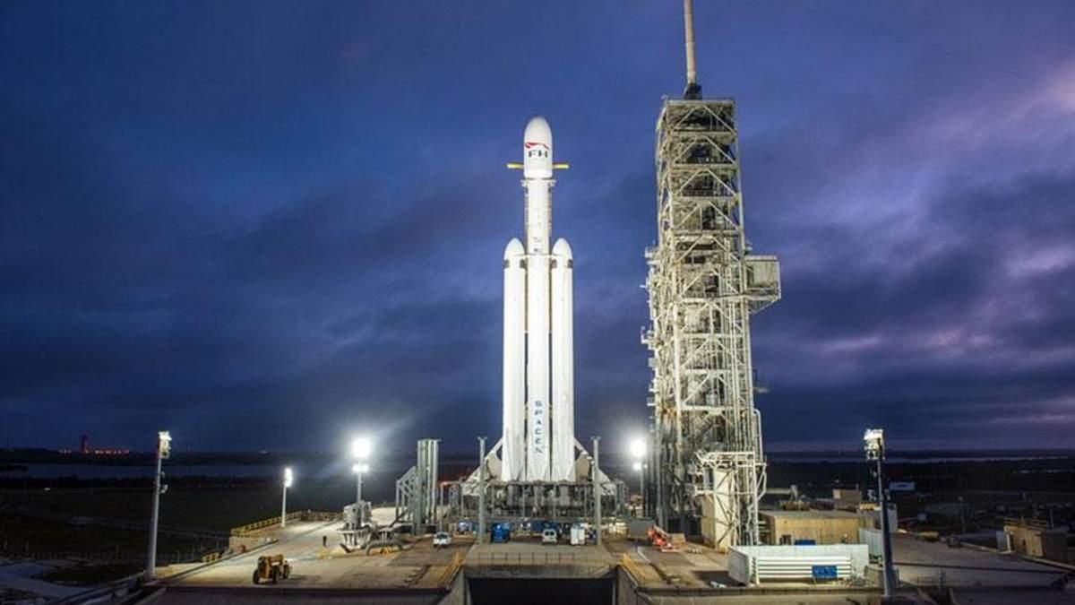 Запуск Falcon Heavy 2018: онлайн трансляція запуску 6 лютого