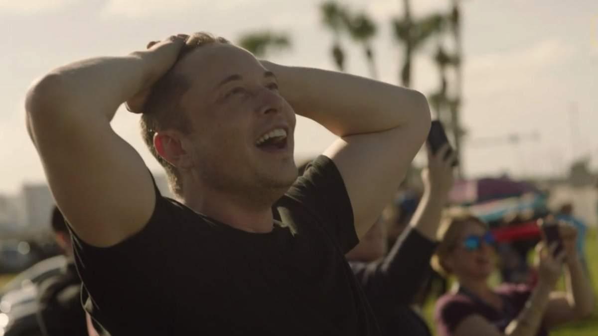 Как Илон Маск отреагировал на успешный полет Falcon Heavy: появилось эмоциональное видео