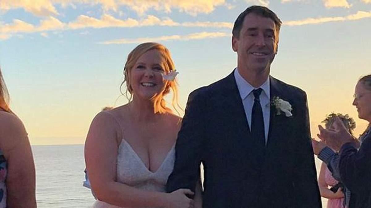 Емі Шумер вийшла заміж: опубліковані перші фото