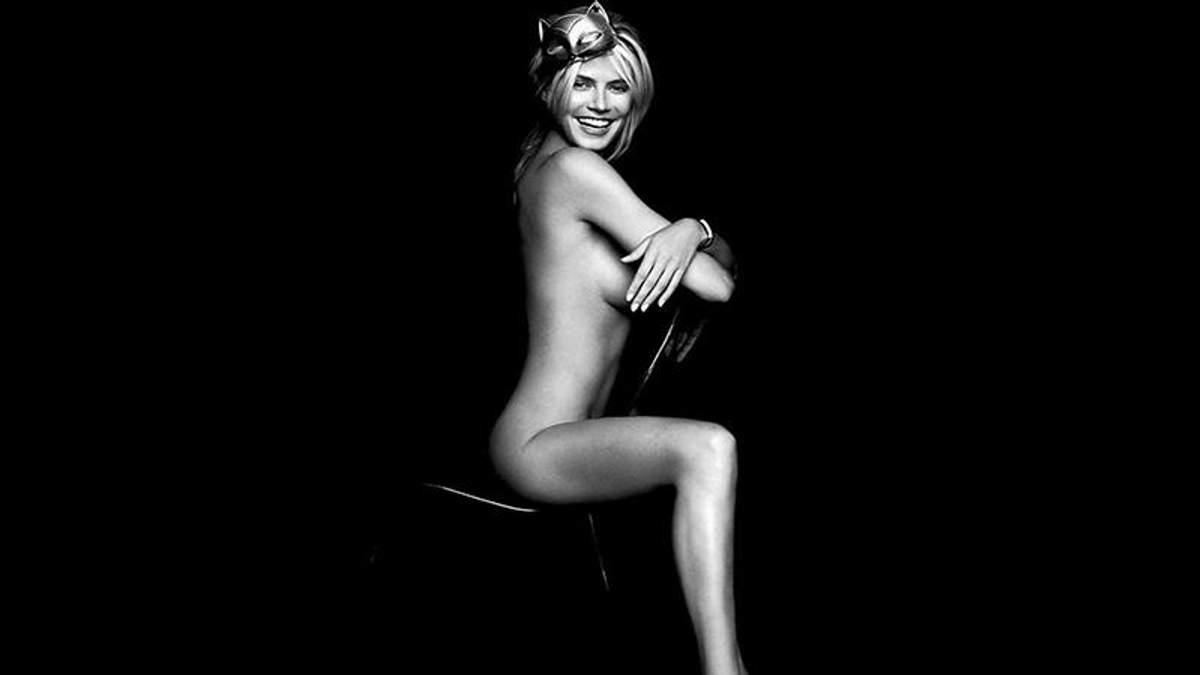 Хайді Клум опублікувала раритетні фото, де вона позує повністю оголеною: 18+