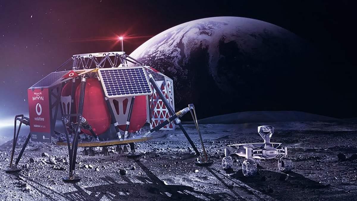 На Місяці може з'явитися мережа 4G