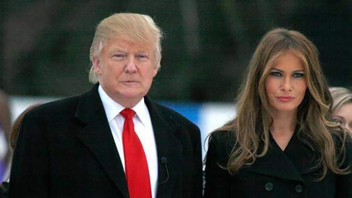 Дональд Трамп публічно образив свою дружину: деталі скандального інциденту