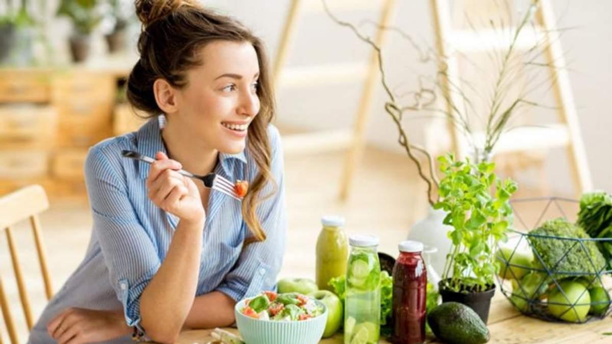 Здорове харчування для молодості жінки