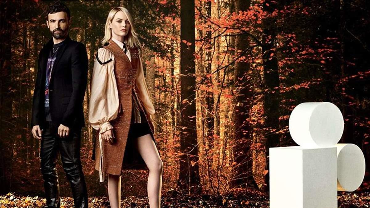 Емма Стоун та Ніколя Геск'єр для W Magazine