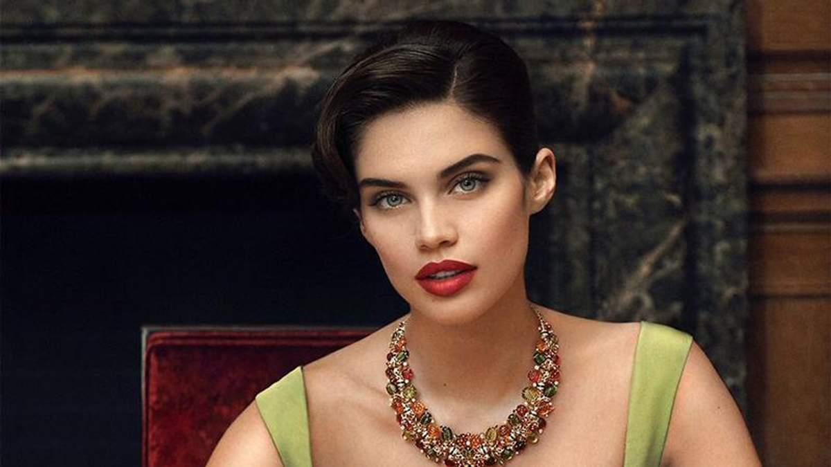 Модель Сара Сампайо зачарувала вишуканою фотосесією: розкішні фото