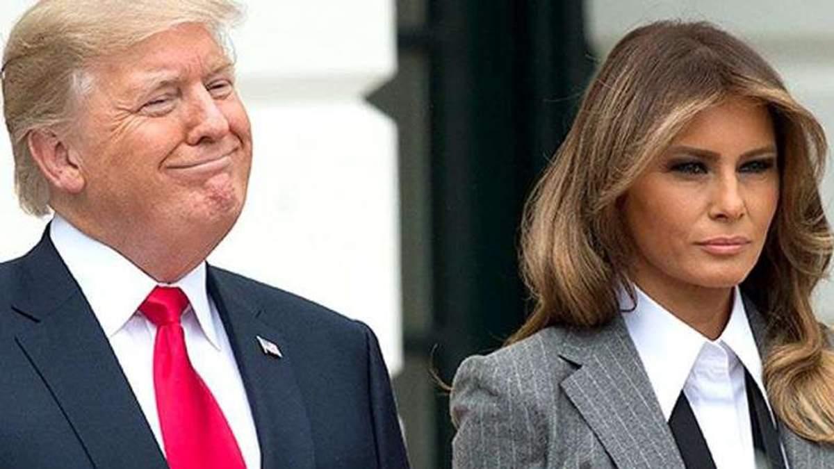 Думаєте, їй живеться легко? – Дональд Трамп розповів про стосунки з Меланією