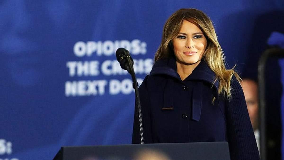 Меланія Трамп засвітила нове стильне пальто: чарівні фото